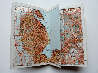 "Emma Johnson ""Dislocated Pocket Atlas: British Isles II"", 2012"