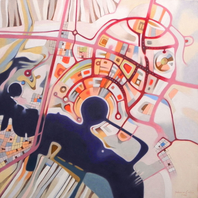 "Federico Cortese, ""Imaginary map of Abu Dhabi"", 2014"