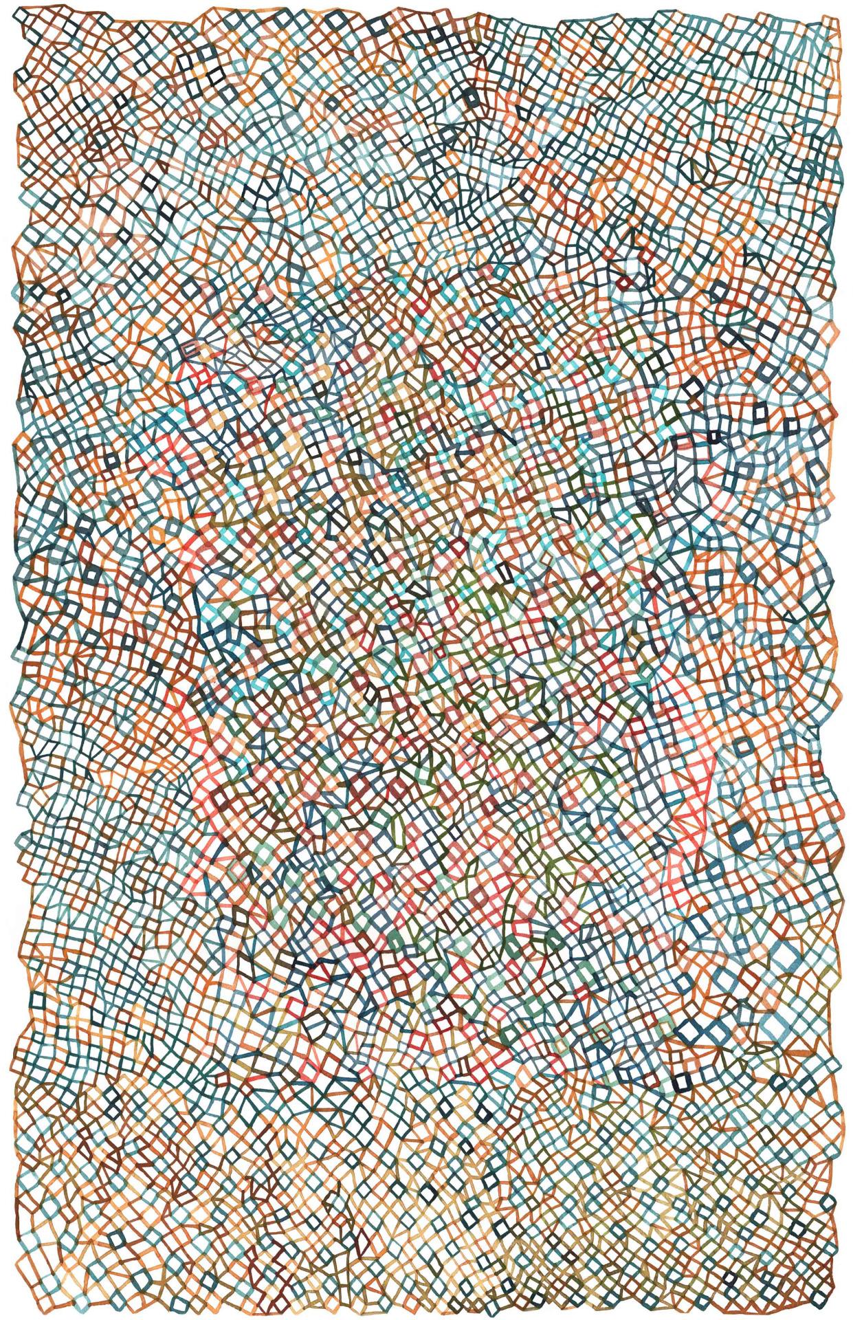 "Fabrice Clapiès, ""geo-graphique"", 2016"
