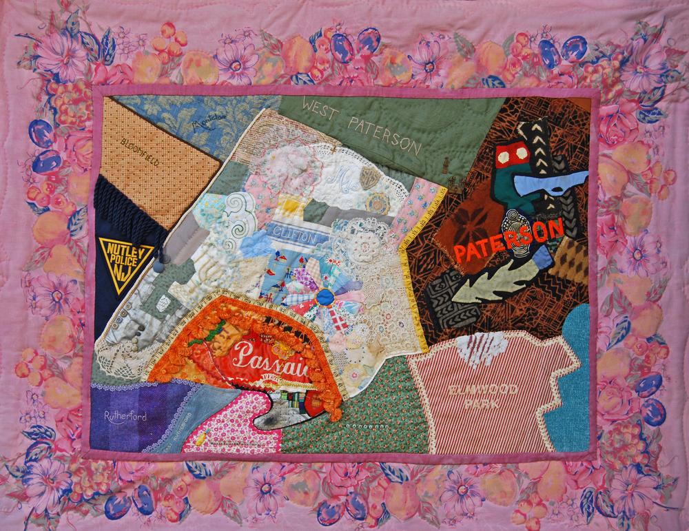 "Diane Savona, ""Map of Hometown Perceptions"""