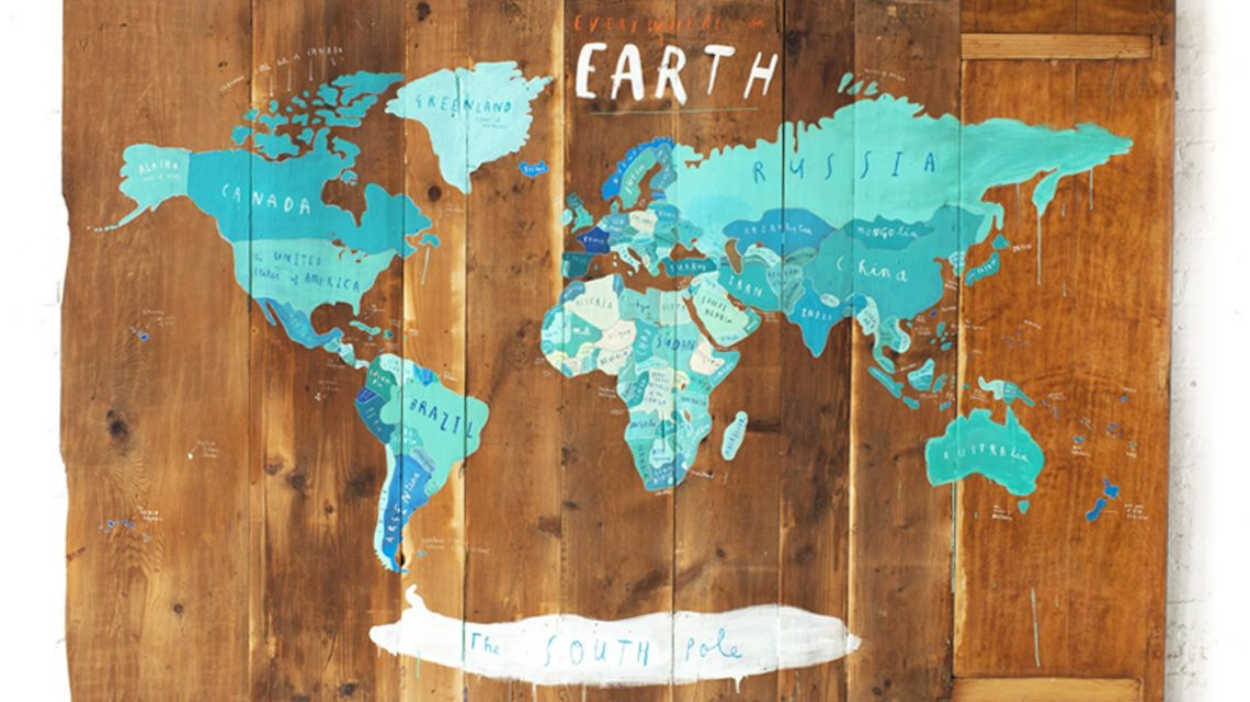 Oliver Jeffers, Everywhere on Earth
