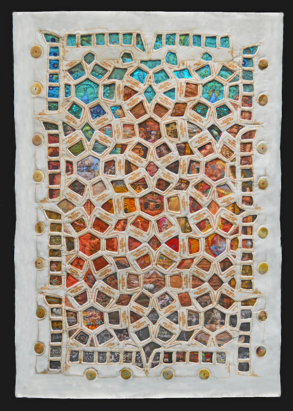 "Diane Savona, ""Indian Map"""