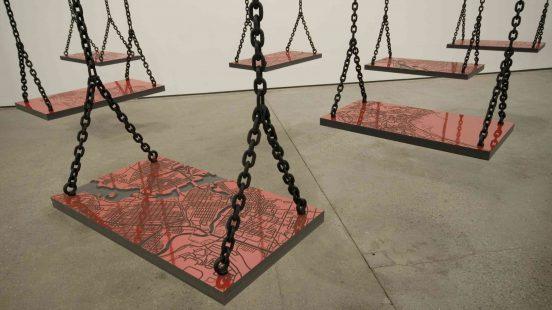 "Mona Hatoum, ""Bunker"", 2006"
