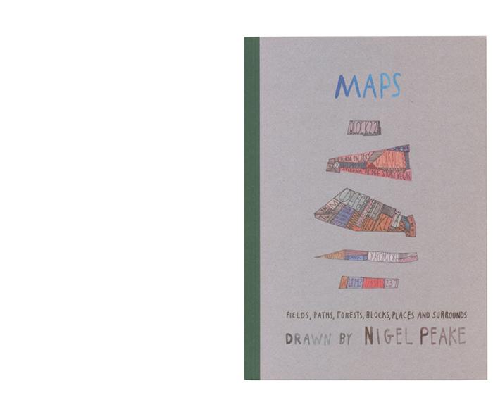 Nigel Peake, Maps, 2008 cover