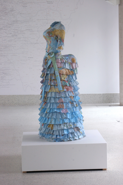 Susan Stockwell, Dress Sculptures, Colonial Dress, 2010