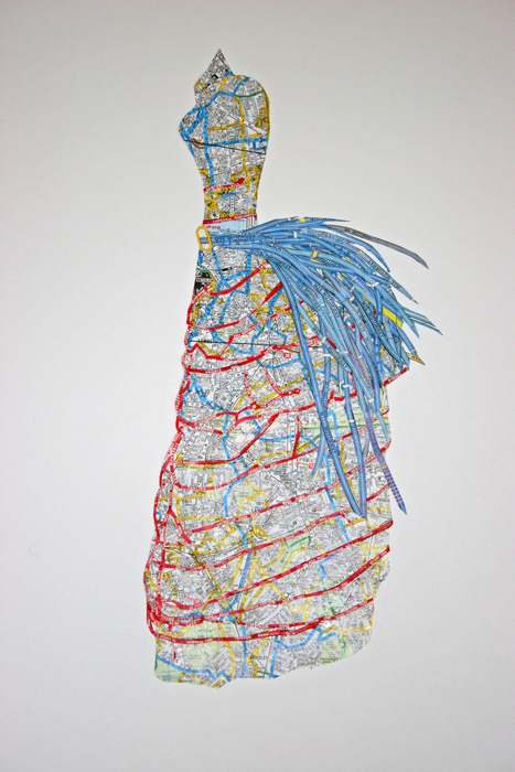 Susan Stockwell, sketch, Colonial Dress, 2010
