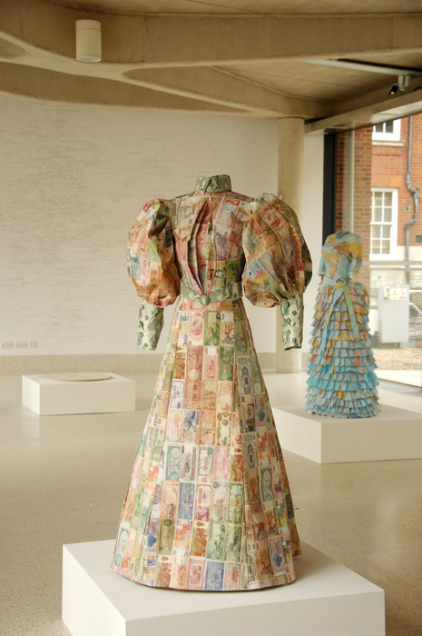 Susan Stockwell, Dress Sculptures, Money dress, 2010