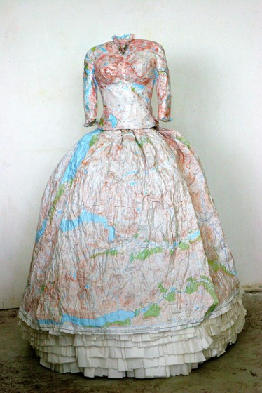 Susan Stockwell, Dress Sculpture, Highland Dress, 2010