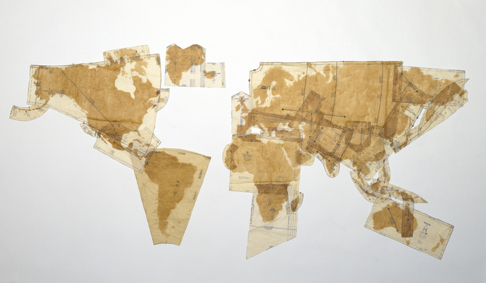 Susan Stockwell, Pattern of the World, 2000