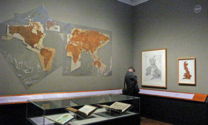 Susan Stockwell, Pattern of the world, 2000, exibition at the V&A Museum