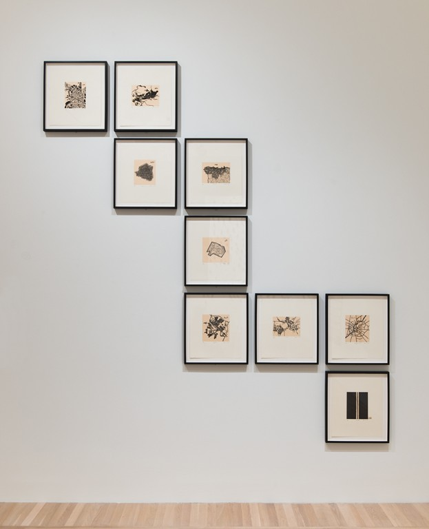 Zarina Hashmi, ...these Cities Blotted into the Wilderness, 2003