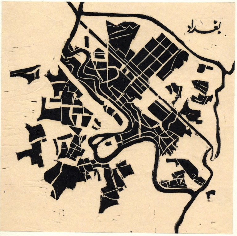 Zarina Hashmi, ...these Cities Blotted into the Wilderness, Baghdad, 2003