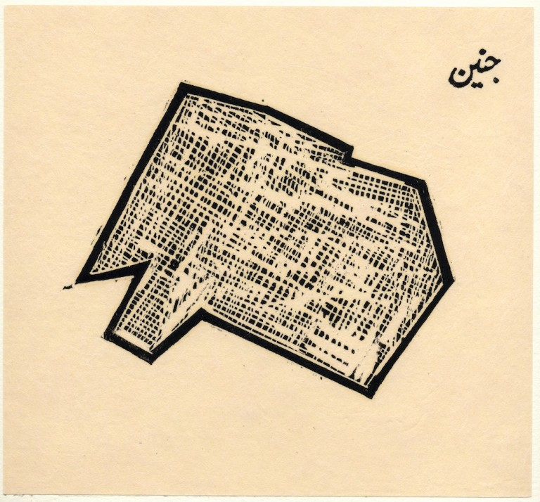 Zarina Hashmi, ...these Cities Blotted into the Wilderness, Jenin, 2003