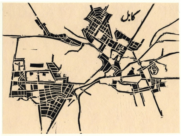 Zarina Hashmi, ...these Cities Blotted into the Wilderness, Kabul, 2003